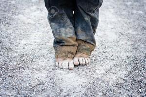 vieze voeten